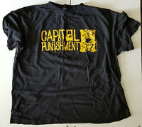 CAPITOL PUNISHMENT COMP PROMO ORIGINAL 94 T SHIRT BLACK XL HIP HOP BEASTIE BOYS