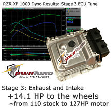 RZR XP1000 ECU Reflash Stage 3 Tune 127.2hp pwrTune Tuning Polaris XP 1000