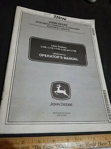 John Deere L100 L110 L118 L120 L130 Lawn Tractor  Operators  Manual OMGX21647 K3