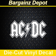 Vinyl Decal ... AC/DC ... Music Band Car Laptop Sticker Vinyl Decal