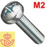 (lote 20pcs) Tornillo acero M2 16mm cabeza Philips (Arduino, prototipos, PCB)