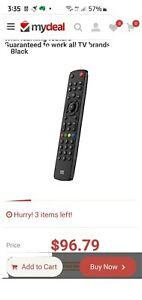 NEW Universal 'One For All' UE-URC7115 Evolve TV Remote Control