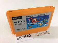 ab7540 Clu Clu Land NES Famicom Japan J4U