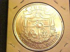 MARDI GRAS Juno Phantoms Phantasies 1973 Silvertone Doubloon Token Coin G318