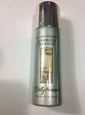Sally Hansen Fast and Flawless Airbrush Foundation NUDE TAN NEW.