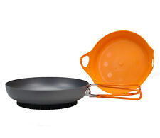 Jetboil FluxRing Fry Pan for Zip, Flash, Minimo, Sumo - Lightweight & Efficient!