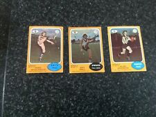 Scanlens 1973 A  Lot of 3 cards.