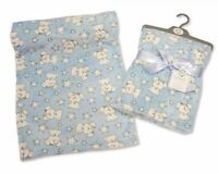 Snuggle Baby Extra Soft Fleece Baby Blanket 75 x 100cm from Newborn