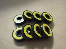 Qty. 8 Shake Junt Low Riders Abec-3 Skateboard Bearings