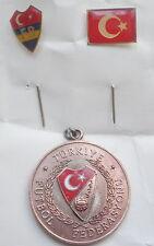 Turkey Football Federation medal,Milli Takimi futbol madalya,Crescent Islam