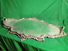 Antique Silver Plated Bronze Plateaux, Large Size, Flashy Unmarked Rare