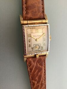 Rare Vintage Bulova Hidden Picture Watch