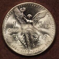 Mexico Onza 1984 Libertad Silver ChBU