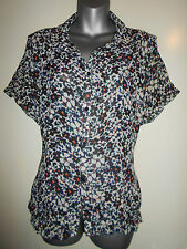 Atmosphere Chiffon Floral Tops & Blouses for Women
