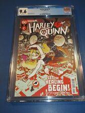 Harley Quinn #1 CGC 9.6 NM+ Gorgeous Gem Wow