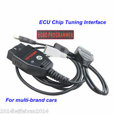 OBD2 EOBD Galletto 1260 ECU Flasher Chip Programmer Read Write Tuning VAG Cable
