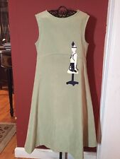 Chocolate Soup Boutique Girls Sz. 5-6 Manequin Applique Jumper Dress