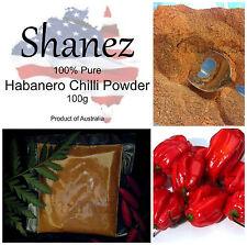 ~EXTRA HOT HABANERO CHILI CHILLI POWDER-100g Made In Australia~Homemade~Spices~