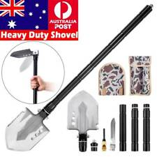 Heavy Duty Multifunction Tactical Shovel Folding Camping Survival Tools Military