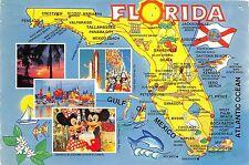 BG21087 the walt disney florida usa map cartes geographiques