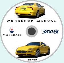 Workshop Manual,Maserati 3200 GT Manuale Officina,Parti Ricambio,Imp.Elettrico