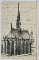 Paris La Saint-Chapelle c1904 France Postcard L13