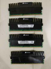 Corsair Vengeance 32GB (4x8GB) DDR3-1600  PC3-12800 CMZ32GX3M4X1600C10 RAM