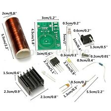Tesla Coil Kit 12V DC Mini DIY Arc Wireless Electric Lighting Power Transmission