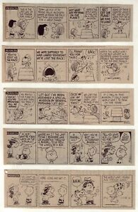 Peanuts by Charles Schulz - 27 daily comic strips - Complete July 1975