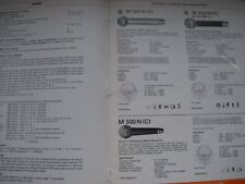 BEYER DYNAMIC UK 10 PAGE TRADE PRICE LIST 1981 + PRODUCT 24 PAGE CATALOGUE 1974