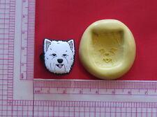 Dog K9 Silicone Mold A908 Candy Chocolate Fondant Soap Sugarcraft Miniature