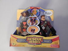 Fisher Price Rescue Heroes Mission Select Billy Blaze Talking Figure