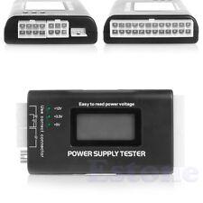 PC LCD 20/24 Pin PSU ATX SATA HDD Power Supply Tester