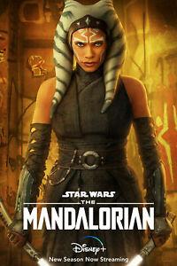 The Mandalorian 2 Ahsoka Tano Star Wars TV Poster Art Print Wall Home Decor