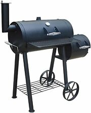 "Smoker Holzkohlegrill ""Edmondton"" von El Fuego® Grill BBQ Grillwagen Barbecue"