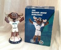 2006 SGA Seattle Mariners Moose Bobblehead Limited Edition MLB Mascot