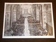 Roma nel 1904 Papa Pio X San Pietro 50 anni dell'Immacolata + Nicola Schiavoni