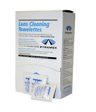 Lens Cleaning Towelettes Anti-Fog by Pyramex Case of 2 Boxes