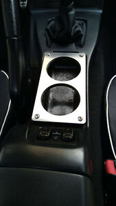 Cup Holder Center Console Ashtray Delete Stainless Steel Mazda MX-5 NA MK1