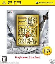 Used PS3 Shin Sangoku Musou 6 SONY PLAYSTATION 3 JAPAN JAPANESE IMPORT