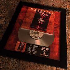 Makaveli Tupac Shakur 2Pac Platinum Record Disc Album Music Award Mtv Riaa