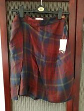 BNWT NEW Vivienne Westwood Asymmetric Check Tartan Skirt lined