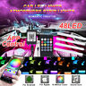 48 LED Car Interior Lights USB RGB Floor Atmosphere Neon Lamp Remote APP Control