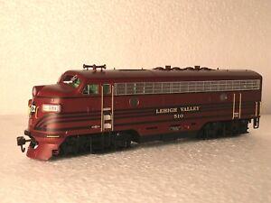 Athearn Genesis - EMD F3 A-B-A with dynamic brakes - Lehigh Valley Railroad