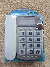 jWIN JT-P390 Big Button Corded Speakerphone, 13 Number Memory, Seniors