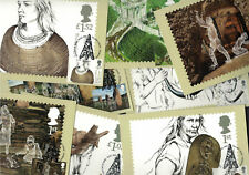 Ancient Britain 2017 - Royal Mail Franked PHQ Stamp Cards 17.01.2017