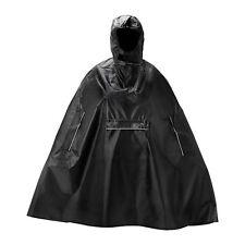 NEW IKEA KNALLA RAIN PONCHO, BLACK 602.834.21 FOLDS INTO ITS OWN POCKET