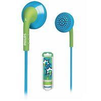 Philips SHE2670BG In-Ear Headphones Earphones SHE2670 Blue/Green GENUINE