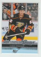 (70455) 2014-15 UPPER DECK YOUNG GUNS CHRIS WAGNER #491 RC