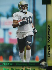 219 Chad Morton New Orleans Saints Skybox 2000 Rookie